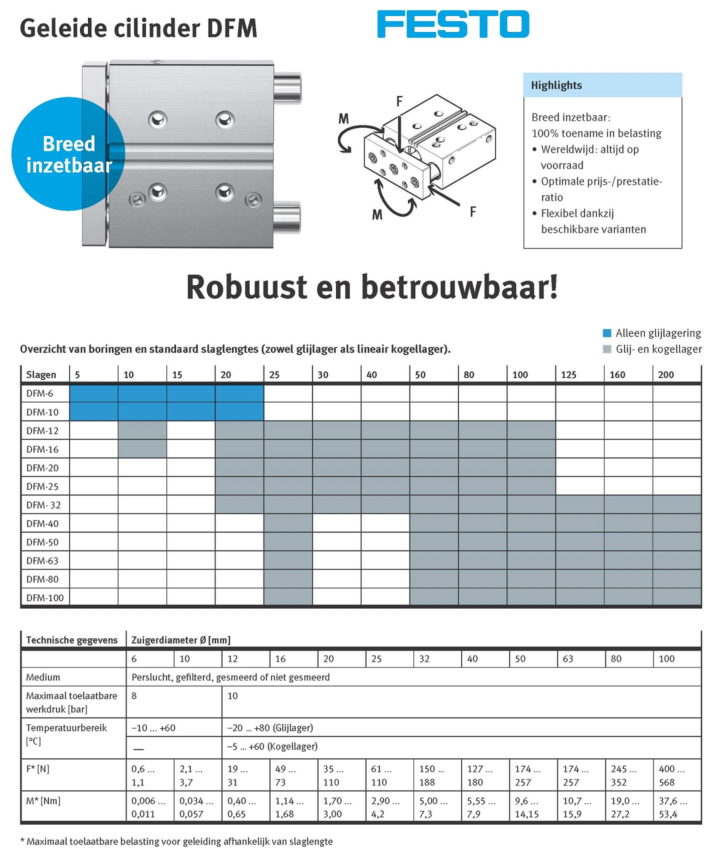 Poster Festo Product in Beeld